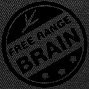 stamp free mind brain Tee shirts - Casquette snapback