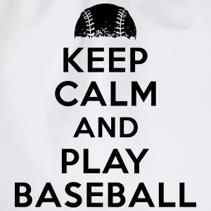 Keep calm and play baseball Tee shirts - Sac de sport léger