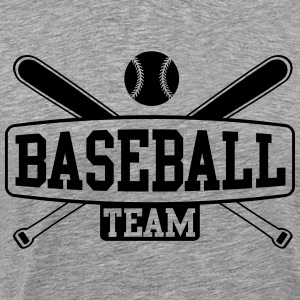 Baseball Team Long sleeve shirts - Men's Premium T-Shirt