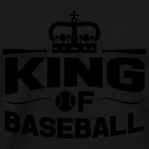 King of Baseball Tassen & rugzakken - Mannen Premium T-shirt