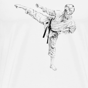 karate Vêtements de sport - T-shirt Premium Homme