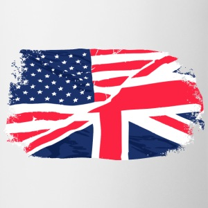 USA - Union Jack Flag T-shirts - Kop/krus