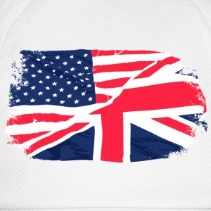 USA - Union Jack Flag Tank Tops - Baseball Cap