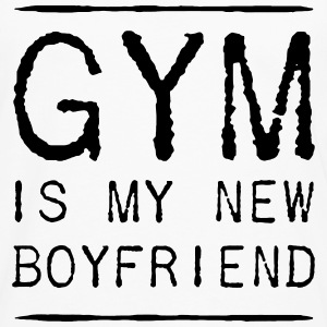 GYM IS MY BOYFRIEND - Männer Premium Langarmshirt