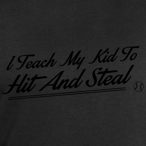 I teach my kid to hit and steal Singlets - Sweatshirts for menn fra Stanley & Stella