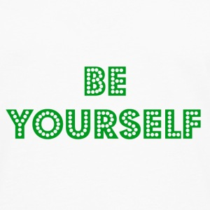 Be Yourself Mug - Men's Premium Longsleeve Shirt