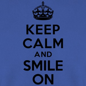 Keep calm and smile on Tabliers - Sweat-shirt Homme