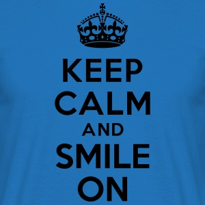 Keep calm and smile on Tabliers - T-shirt Homme