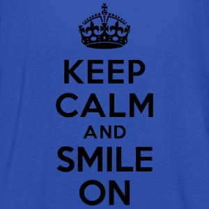 Keep calm and smile on Tabliers - Débardeur Femme marque Bella