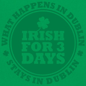 IRISH FOR 3 DAYS - FUN DUBLIN T-shirts - Retroväska