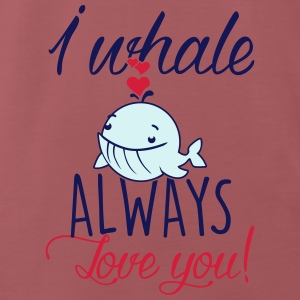 I whale always love you! Accessoires - Männer Premium T-Shirt