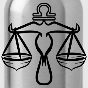 Sign Libra Horoscope T-Shirts - Water Bottle