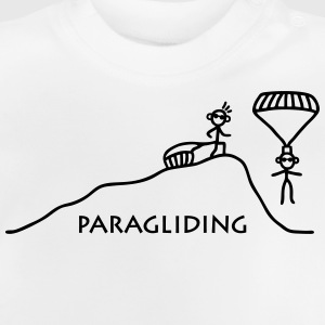 Paragliding vom Berg T-Shirts - Baby T-Shirt