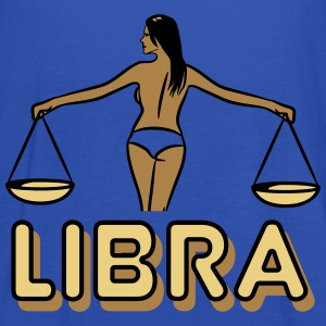 Libra Horoscope Zodiac Libra girl sexy T-Shirts - Women's Tank Top by Bella