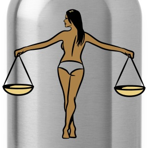 Libra Horoscope Libra girl sexy T-Shirts - Water Bottle