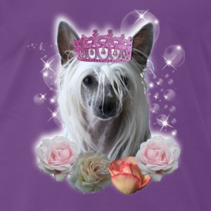 Chinese Crested Princess Tops - Männer Premium T-Shirt