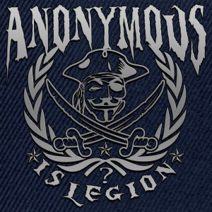 anonymous is legion Tee shirts - Casquette snapback