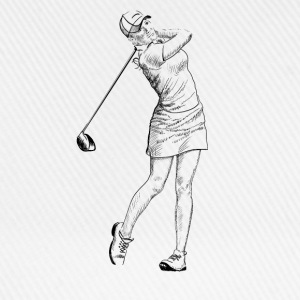 golf girl Toppar - Basebollkeps