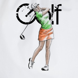 golf girl T-shirts - Gymnastikpåse