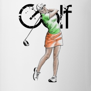 golf girl T-shirts - Mugg