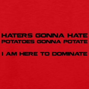 Haters Gonna Hate - underwear - Men's Premium Tank Top