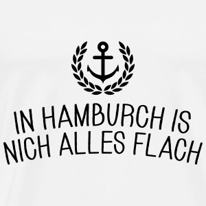 In Hamburch is nich alles flach Langarmshirts - Männer Premium T-Shirt