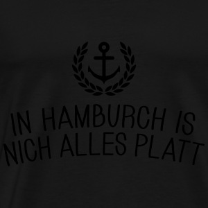 In Hamburch is nich alles platt Langarmshirts - Männer Premium T-Shirt