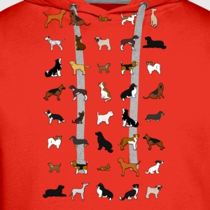 All dogs Tee shirts - Sweat-shirt à capuche Premium pour hommes