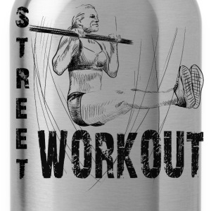 street workout girl T-Shirts - Trinkflasche
