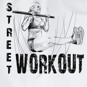 street workout girl T-shirts - Gymnastikpåse