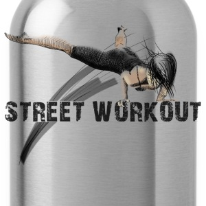 street workout girl Tank Tops - Trinkflasche