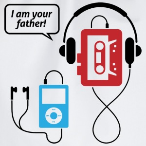 MP3 player, I am your father! T-Shirts - Drawstring Bag