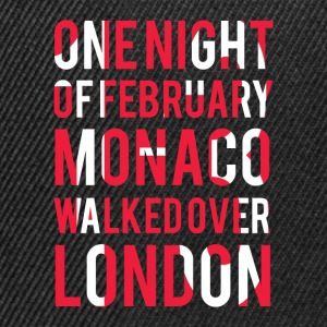 Monaco walked over London Tee shirts - Casquette snapback