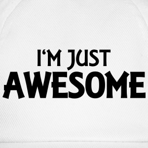 I'm just awesome Langarmshirts - Baseballkappe