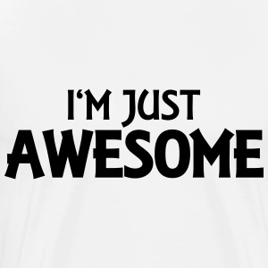 I'm just awesome Langarmshirts - Männer Premium T-Shirt