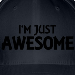 I'm just awesome T-shirts - Flexfit basebollkeps
