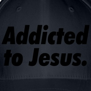 Addicted to Jesus T-Shirts - Flexfit Baseball Cap