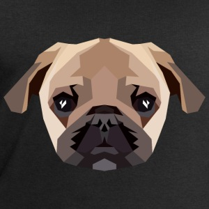 Pug (Polygon Style) Tops - Men's Sweatshirt by Stanley & Stella