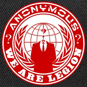 anonymous we are legion Tee shirts - Casquette snapback