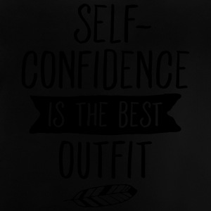 Self-Confidence Is The Best Outfit Camisetas - Camiseta bebé