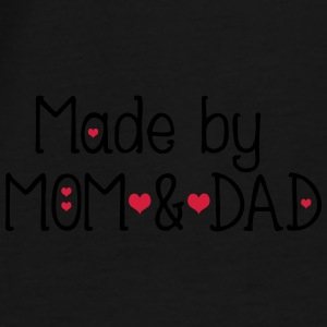 Made by mom and dad Snapback Cap - Men's Premium T-Shirt