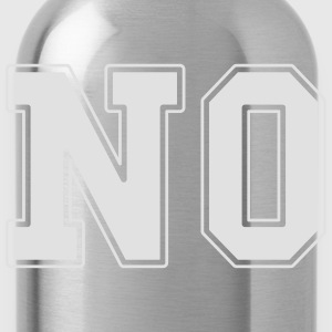 NO college T-Shirts - Water Bottle