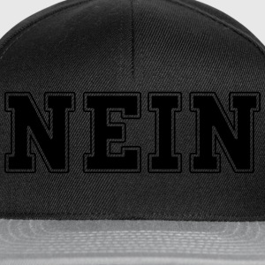 NEIN college Sweat-shirts - Casquette snapback