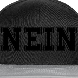 NEIN college T-Shirts - Snapback Cap