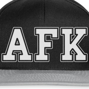 AFK Tee shirts - Casquette snapback