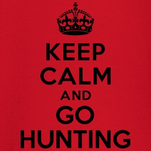Keep calm and go hunting Tee shirts - T-shirt manches longues Bébé