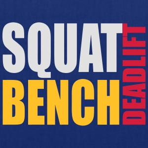 Squat Bench Deadlift - men's hood - Tote Bag
