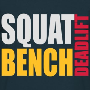 Squat Bench Deadlift - men's hood - Men's T-Shirt