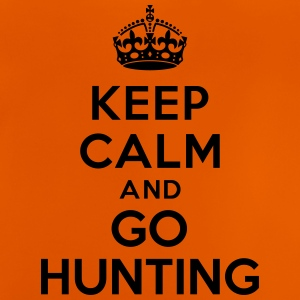 Keep calm and go hunting Tee shirts - T-shirt Bébé