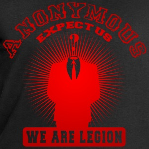 anonymous expect us Tee shirts - Sweat-shirt Homme Stanley & Stella